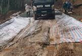 Hà Tĩnh: Thi công ẩu tại công trình đường quốc phòng