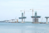 Cầu Cửa Hội nối hai tỉnh Nghệ An và Hà Tĩnh khi nào thông xe?