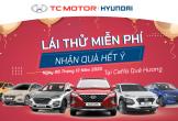 Hyundai Hà Tĩnh thực hiện chương trình lái thử xe miễn phí tại Coffee Quê Hương