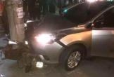Ôtô vượt đèn đỏ gây tai nạn cho xe khác rồi bỏ chạy