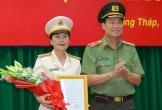 Nữ Thượng tá sinh năm 1977 làm Phó giám đốc công an tỉnh Đồng Tháp