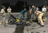 Đối đầu khi lao xe máy trên đường mới khu công nghệ cao, 2 thanh niên chết