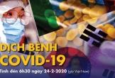 Dịch COVID-19 ngày 24-2: Hàn Quốc thêm 161 ca nhiễm mới, đã có 7 người tử vong