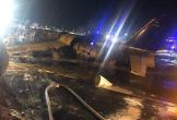 Máy bay Phillippines chở bệnh nhân đi Nhật bốc cháy trên đường băng, 8 người chết