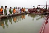 Hà Tĩnh: Bắt giữ một tàu khai thác cát trái phép trên biển