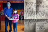 Hà Tĩnh: Cô bé lớp 6 dẫn lời Thủ tướng và ủng hộ 1 triệu đồng phòng chống dịch Covid-19