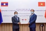 Việt Nam trao thiết bị y tế trên 7 tỉ đồng giúp Lào, Campuchia chống COVID-19