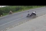 Người đàn ông sang đường thiếu quan sát khiến 3 người bị thương nặng