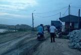 Hà Tĩnh: Rửa máy nâng cát trong bãi tập kết, một người tử vong
