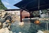 Quảng Ninh lại gây sốt với khu suối khoáng nóng đẹp như hoàng cung Nhật