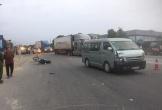 Hà Tĩnh: Va chạm với xe khách, một lái xe ôm tử vong thương tâm