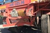Tài xế ô tô tải tử vong sau cú tông thẳng vào xe hỏng