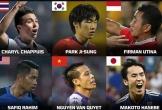 Văn Quyết vào nhóm tiền vệ hay nhất châu Á cạnh Park Ji-sung