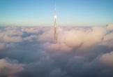 Tòa nhà cao nhất thế giới xuyên giữa tầng mây