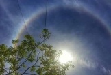 """""""Vầng hào quang"""" bao quanh mặt trời xuất hiện tại Hà Tĩnh"""
