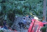 Xe khách lao xuống vực, ít nhất 6 người chết, hàng chục người bị thương