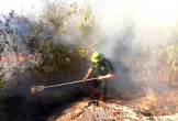 Lại xảy ra cháy rừng ở Hà Tĩnh