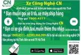 'Xe Công nghệ Việt CN' ứng dụng gọi xe mới của người Việt