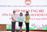 Vinamilk ủng hộ 8 tỷ đồng cho Hà Nội và 3 tỉnh miền Trung chiến đấu chống Covid-19
