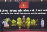 Bắt đầu quốc tang nguyên Tổng Bí thư Lê Khả Phiêu