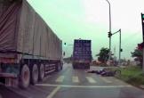 Xe container tông chết cô gái trẻ rồi bỏ chạy