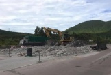 Tháo dỡ Trạm Đèo Ngang sau gần 4 năm dừng thu phí