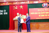 Chân dung tân Bí thư Tỉnh ủy Quảng Bình