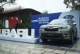 Người dân thành Vinh phấn khích lái thử xe Subaru
