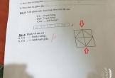 Bài toán Tiểu học đếm hình tam giác tưởng