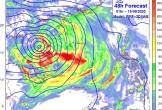 Bão suy yếu thành áp thấp nhiệt đới, mưa lớn hết đêm nay