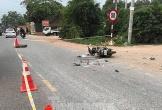 Xe tải tông xe máy, 3 người trong gia đình thương vong