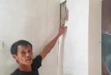 Dân bất an khi hàng chục căn nhà nứt nẻ do thi công đường ven biển Hà Tĩnh