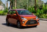 Toyota Wigo dao động từ 352-384 triệu động