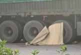Hải Phòng: Hai cháu nhỏ chết thảm dưới gầm xe container