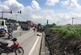 Xe container tông xe đạp điện khiến 1 người tử vong tại chỗ