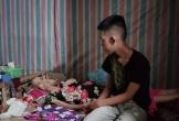 Xót xa hình ảnh chồng đau ốm chăm vợ ung thư giai đoạn cuối và hai con khuyết tật