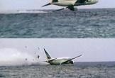 Video ghi lại 15 giây cuối cùng trước khi nổ tung dưới biển của máy bay Indonesia vừa gặp nạn được lan truyền trên MXH, thực hư ra sao?