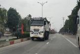 Hà Tĩnh: Hãi hùng xe tải đi ngược chiều, lấn làn đoạn qua thị xã Hồng Lĩnh