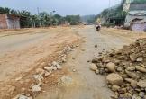 Thực trạng chậm tiến độ, xuống cấp tại Quốc lộ 8A Hà Tĩnh