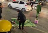 Tai nạn xe máy với 3 người bộ hành qua đường, khiến 1 cụ bà tử vong tại chỗ