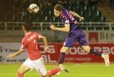 Tiền đạo Hà Tĩnh đá hỏng 2 quả phạt đền trong một hiệp đấu