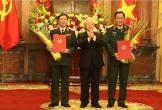 2 Thứ trưởng Bộ Quốc phòng được thăng quân hàm Thượng tướng