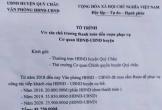 Văn phòng huyện ở Nghệ An xin hơn 80 triệu đồng thanh toán tiền rượu tiếp khách