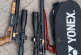 Hà Tĩnh: Thu giữ 2 khẩu súng tự chế cùng 250 viên đạn