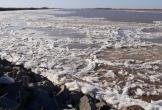 Hơn 700 km của sông Hoàng Hà đóng băng