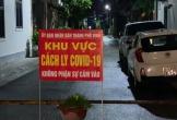 Phong tỏa 32 hộ dân phường Hà Huy Tập, xã Hưng Lộc, TP. Vinh nơi có ca nhiễm COVID-19 trong cộng đồng