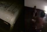 Ô tô lao xuống kênh nước lúc nửa đêm, 5 công nhân may mắn thoát chết