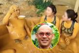 """Rộ lại vlog """"ông trùm"""" Điền Quân tắm bùn giữa dàn nhân viên nữ, cuối clip có một hành động """"hưởng thụ"""" gây sốc"""