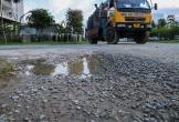 Ảnh: Cận cảnh những con đường đầy 'ổ voi' giữa thành phố Hà Tĩnh