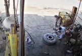 Lốp ô tô phát nổ kinh hoàng, chủ gara tử vong tại chỗ